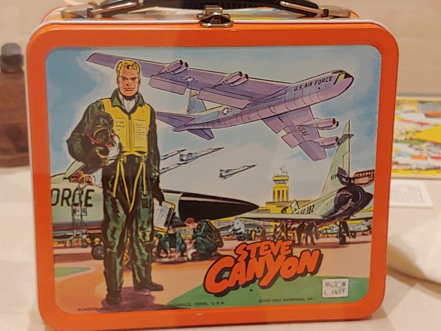Steve Canyon Lunch Box