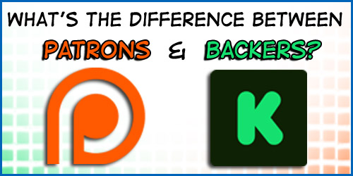 Backers vs Patrons