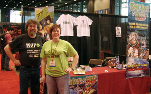 Byron and Dawn at C2E2 2010
