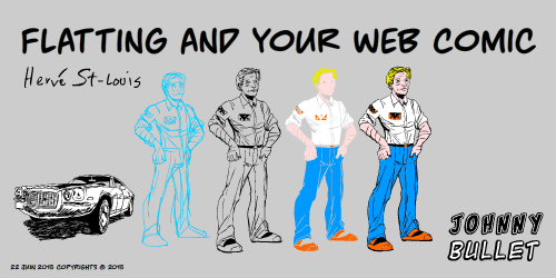 Flatting and Your Web Comic
