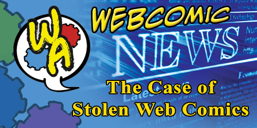 The Case of the Stolen Web Comics