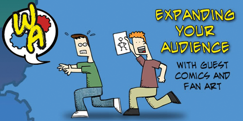 Expanding your audience with Guest Comics